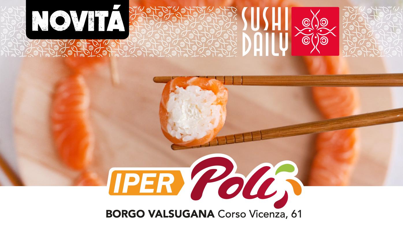 IperPoli: arriva il corner Sushi Daily!