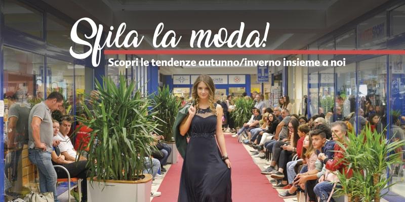 """sfilata di moda """"Sfila la Moda"""" 2019 al centro commerciale Le Valli"""
